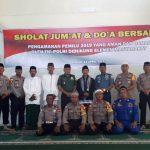 Sholat Jumat dan Doa Bersama TNI Polri Dengan Komponen Masyarakat Menjelang Pengamanan Pemilu 2019
