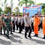 Kapolres Natuna Pimpin Apel Gelar Pasukan Operasi Simpatik , Ini  7 sasaran Utamanya