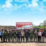 Polres Tanjungpinang Gelar Apel Pasukan Kesiapan Jelang Pungut Suara Serta Simulasi Sispam Kota