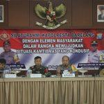 Silaturahmi Kapolresta Barelang Bersama Elemen Masyarakat Wujudkan Batam Tetap Aman dan Kondusif