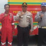 Maksimalkan Pengamanan Kantor PPK, Kapolsek Sagulung Hadirkan Mobil Pemadam Kebakaran dan Mobil Ambulans