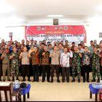 Deklarasi Damai Pasca Pileg dan Pilpres, Kapolres Lingga : Jaga persatuan Indonesia