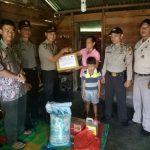 Satbinmas Polres Karimun Laksanakan Kegiatan K2YD dan Anjangsana Kerumah Masyarakat Kurang Mampu