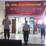 Kapolda Kepri Pimpin Apel Pemberangkatan 300 Personil Polda Kepri BKO Ke PMJ