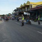 Bulan Suci Ramadhan, Polres Natuna Berikan Pengamanan Pasar Tumpah dan Sholat Tarawih