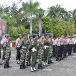 Jelang Tahap Penghitungan Suara Pemilu 2019 Oleh Kpu , Kapolres Natuna Pimpin Apel Siaga 1