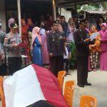Wakapolres Natuna Pimpin Upacara Pemakaman Jenazah Brigadir Hendrik Candra Personil Polsek Midai