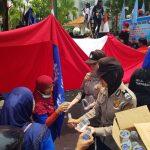 Polda Kepri Beserta Jajaran Gelar Pam Dalam Rangka Hari Buruh Internasional 2019