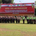 Polda Kepri Laksanakan Apel Gelar Pasukan Dalam Rangka Operasi Ketupat Seligi Tahun 2019