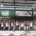Dikmas Lantas Polda Kepri Sosialisasikan Ops Keselamatan Seligi 2019 di Batalyon Raider 136 Tuah Sakti