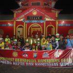 Jaga Siskamtibmas Kota Batam Pasca Pemilu 2019, Polda Kepri Bersama Komunitas Sepeda Gelar Patroli Sepeda Ramadhan 1440 H