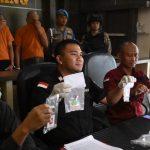 Konferensi Pers, Polres Tanjungpinang Amankan 5 Pelaku Terkait Narkotika