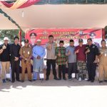 Perlombaan Gasing Khas Permainan Rakyat  Natuna Meriahkan Hari Bhayangkara Ke 73 Polres Natuna
