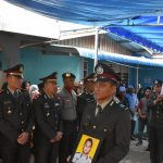 Polres Tanjungpinang Laksanakan Upacara Pelepasan Jenazah dan Prosesi Pemakaman Brigadir Anumerta Agung Andriyanto