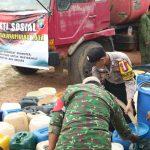 2 Hari 90 Ton Air Bersih Disalurkan Polres Tanjungpinang ke Warga