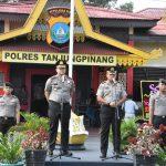 Wellcome Parade, Apel Farewell dan Pisah Sambut Warnai Pergantian Kapolres Tanjungpinang