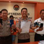 Ditreskrimsus Polda Kepri Berhasil Ungkap Kasus Tindak Pidana Ilegal Akses/SIM Swap