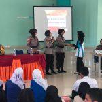 Penguatan Harkamtibmas, Engku Putri Polres Bintan Sambang ke SMK Negeri 1 Bintan Timur