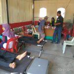 Bakti Sosial Donor Darah Polres Karimun