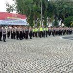 Pengamanan Siaga & Patroli gabungan TNI POLRI Skala Besar di Polres Karimun