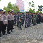 Siaga Pelantikan Presiden dan Wakil Presiden Terpilih, Polres Bintan dan TNI Gelar Apel Gabungan dan Patroli Skala Besar