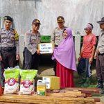 Polres Natuna Peduli Terhadap Korban Bencana Alam Puting Beliung
