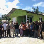 Polres Natuna Bersama Melayu Raya gelar Bakti Sosial Kepada Korban Bencana Alam Puting Beliung
