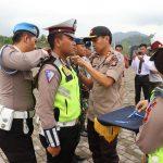 Polres Lingga Gelar Apel Gelar Pasukan Operasi Zebra Seligi 2019