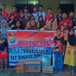 Satbinmas Polres Bintan Berbagi Kebahagiaan Sentuh 3 Rumah Yatim Piatu