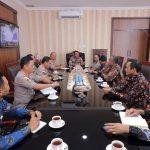 Audiensi Kapolda Kepri Bersama PLN Wilayah Riau dan Kepri