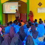 Satbinmas Polres Bintan Sosialisasi Bahaya Narkoba kepada Pelajar SMPN 7 Teluk Bintan