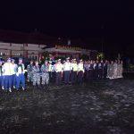 H-1 Pemilihan Kepala Desa Kab Natuna Tni – Polri Dan Satpol Pp Gelar Patroli Gabungan