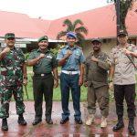TNI-Polri dan Instansi terkait sukses amankan Kunjungan Kerja Kepala Staf Presiden Jendral TNI(PURN) Dr. H. MOELDOKO, S.IP di Kab. Lingga