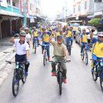 Gowes Bersama Sinergitas TNI – POLRI Di Kabupaten Karimun.