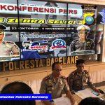 Kapolresta Barelang Konferensi Pers Operasi Zebra Seligi 2019 Polresta Barelang