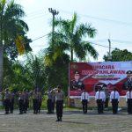 Polres Natuna Melaksanakan Upacara Bendera Dalam Rangka Memperingati Hari Pahlawan
