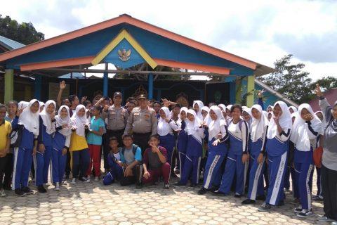 Sat. Binmas Polres Bintan Sambangi SMP Negeri 3 Bintan
