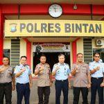 Kunjungan Kepala Rudenim Pusat Tanjungpinang Di Polres Bintan