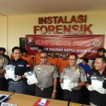 Bareskrim Polri Berhasil Bekuk Tiga Pengedar Narkoba di Tanjungpinang