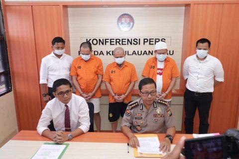 Ditkrimsus Polda Kepri Berhasil Ungkap Kasus Tindak Pidana Korupsi Senilai Rp 12,5 Miliar