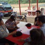 Satbinmas Polres Bintan Basembang Bercerite Kamtibmas Jelang Perayaan Imlek 2020