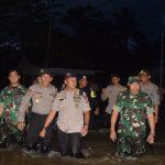 Peninjauan Lokasi Bencana Alam Banjir dan Pembagian Sembako kepada Warga Desa Sebadai Hulu Kec. Bunguran Timur Laut Kab. Natuna yang terkena dampak banjir