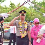 Pisah Sambut Kapolres Bintan dari AKPB Boy Herlambang, S.I.K, M.Si Kepada AKBP Bambang Sugihartono, S.I.K, M.M