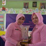 Rangkaian Peringatan HUT YKB ke 40, Bhayangkari Daerah Kepri Kunjungi TK Kemala Bhayangkari Tanjungpinang