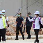 Kapolda Kepri Sambut Kedatangan Kunker Presiden RI di Pulau Galang Batam