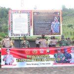 Gelar Bakti Sosial Serentak, Polres Lingga Salurkan 1000 Paket Sembako