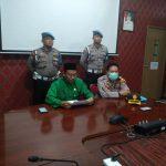 Dinas Kesehatan Kota Tanjungpinang Gelar Konferensi Pers, Anggota Polres Tanjungpinang dan Keluarga Negatif Covid-19