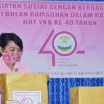 Bhayangkari Cabang Bintan Berbagi Kasih Di Bulan Ramadhan Dalam Rangka HUT YKB Ke-40