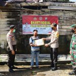 Polres Bintan Gelar Bhakti Sosial Polri Peduli COVID-19