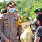 Polres Bintan Salurkan Bantuan Kapolri Kepada Masyarakat
